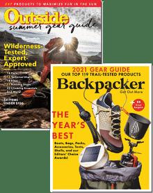 Outside & Backpacker Bundle