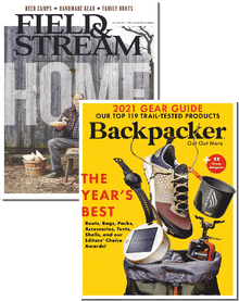 Field & Stream & Backpacker Bundle