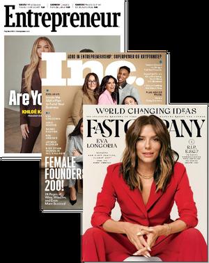 Inc, Entrepreneur & Fast Company Bundle