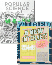 Wired & Popular Science Bundle