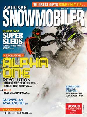 American Snowmobiler