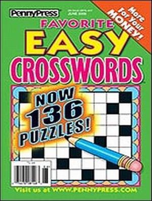 Favorite Easy Crosswords